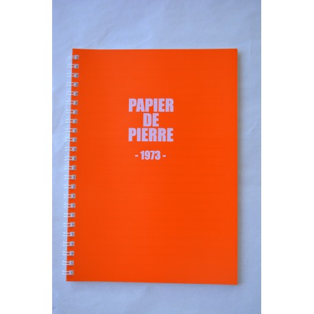 Cahier collection 1973