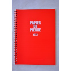 Cahier collection 1973 ROUGE